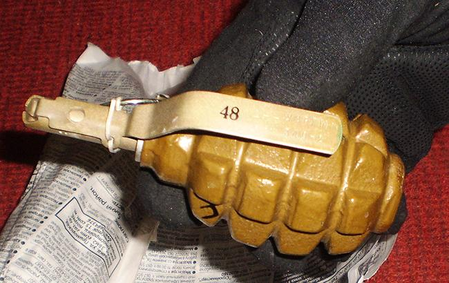 Фото: здетонував запал від гранати (flickr.com/securityserviceofukraine)