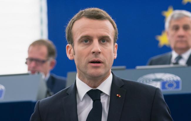 Фото: Еммануель Макрон (flickr.com/european_parliament)