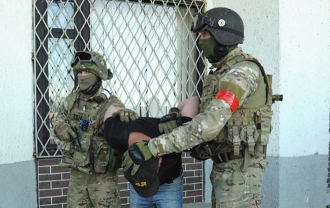 Фото: задержание бойцами СБУ (flickr.com/securityserviceofukraine)