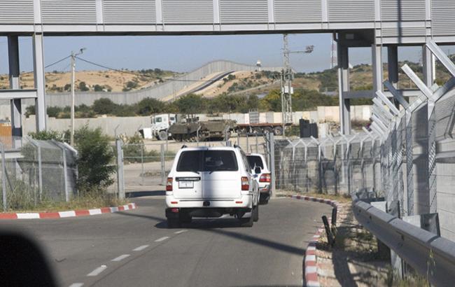 Ізраїль закрив єдиний пункт пропуску на кордоні зсекторомГаза