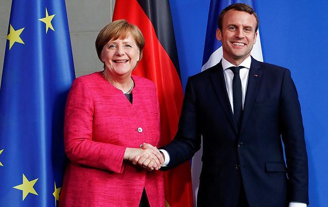 Меркель і Макрон рекомендують саміту ЄС продовжити санкції проти Росії, - джерело