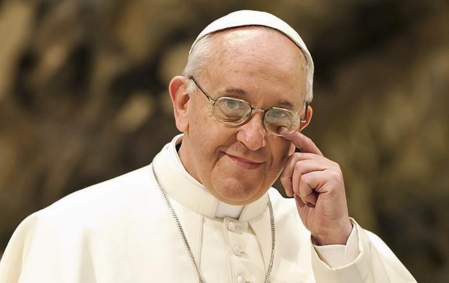 Папа Римский помолился за Украину