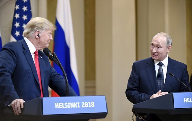 Фото: Трамп і Путін (flickr.com/helsinki2018)