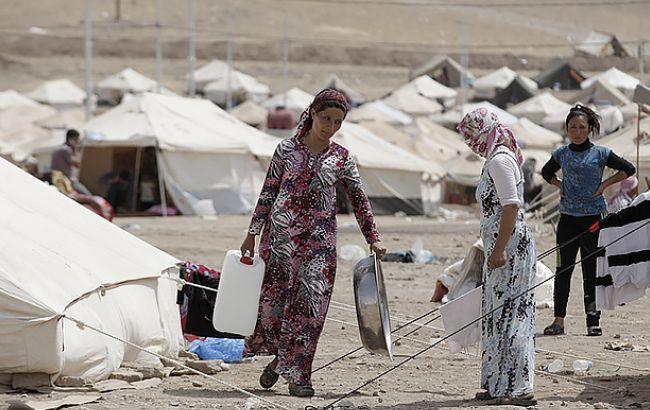 Фото: беженцы из Сирии (flickr.com ihhinsaniyardimvakfi)