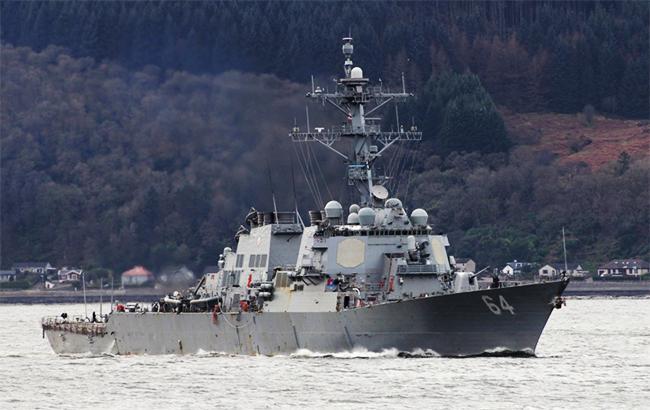 Американский эсминец USS Carney покинул Черное море