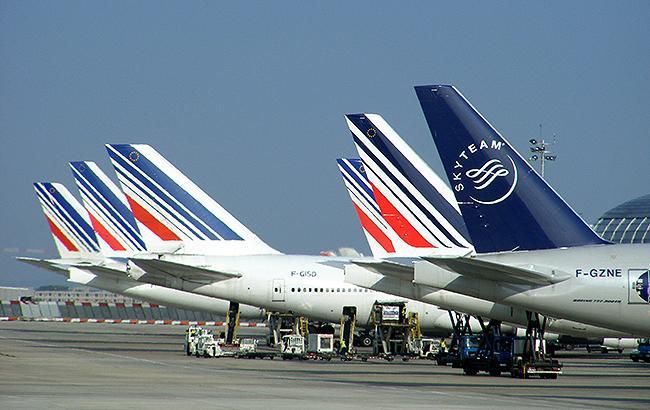 Фото: літаки авіакомпанії Air France (flickr.com Mathieu Marquer)