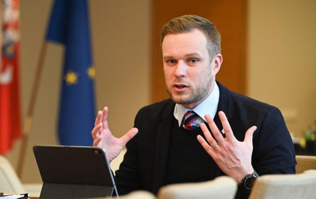 Министр иностранных дел Литвы завтра посетит Украину