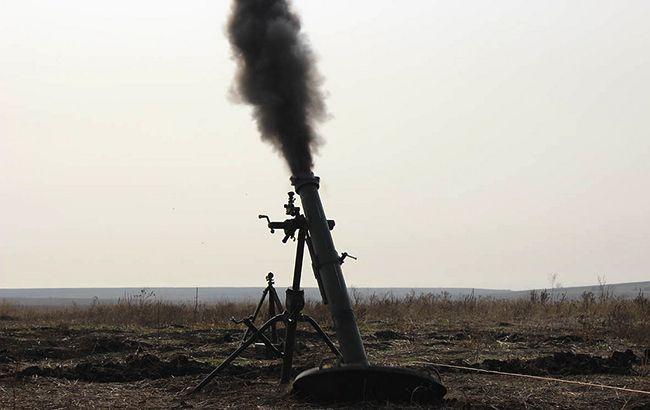 Бойовики застосували міномети поблизу Петрівського