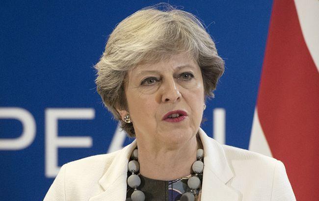 Правительство Британии поддержало проект соглашения о Brexit, - Мэй