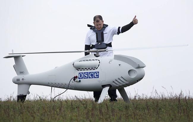ОБСЄ відновлює моніторинг ситуації на Донбасі з допомогою безпілотників