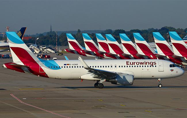 Фото: літаки Eurowings (flickr.com-Pascal)