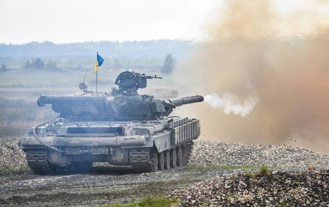 Фото: Український танк (Spc. Ahmad Mercado)