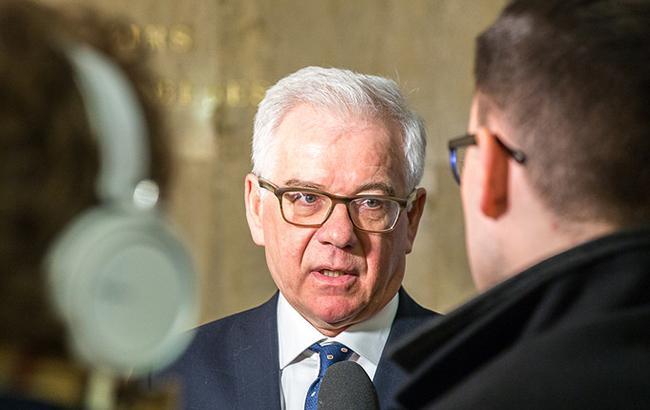 Глава МИД Польши выступил за сохранение санкций против России
