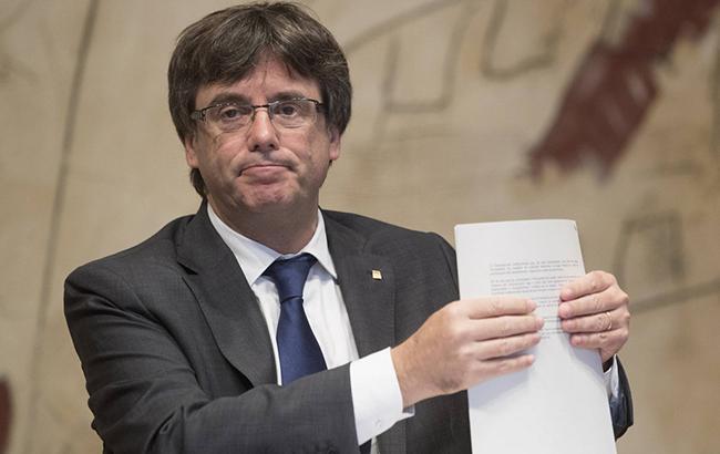 Немецкая прокуратура отправила запрос на экстрадицию Пучдемона в Испанию
