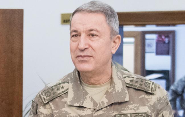 Глава генштаба Турции отправился в РФ на переговоры по Сирии