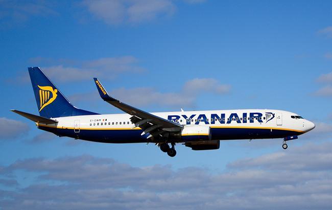 Ryanair планирует летать из Украины в Израиль
