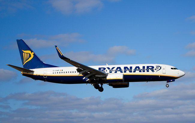 Ryanair збільшить кількість рейсів та маршрутів в Україну