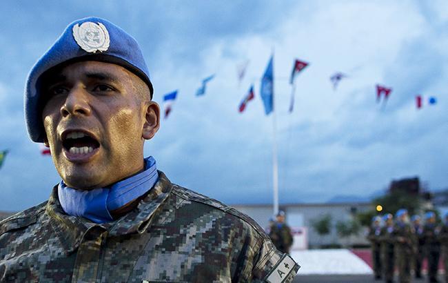 Раньше Москва отвергала само обсуждение идеи введения миротворцев (Фото: flickr.comUnited Nations)