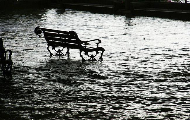 Фото: підвищення рівня води (Pixabey)