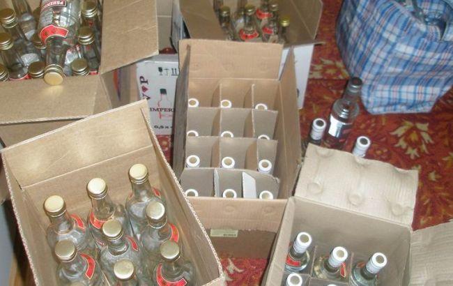 Фото: у харьковчанина изъяли алкоголь и автомобиль