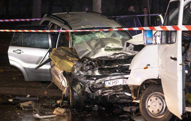 В Киеве произошло масштабное ДТП, двое погибших