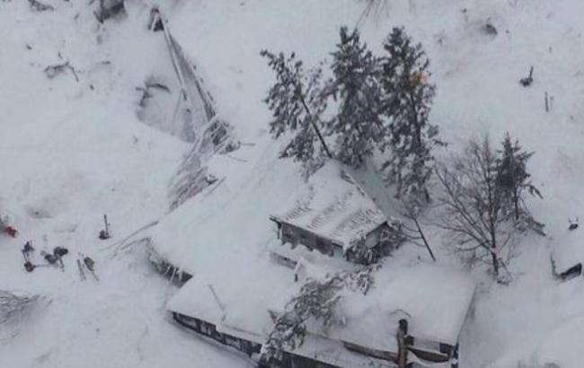 Лавина в Італії: кількість жертв зросла до 23