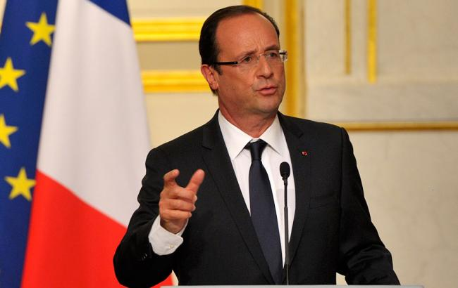 Французская авиация вСирии бомбит лагеря террористов