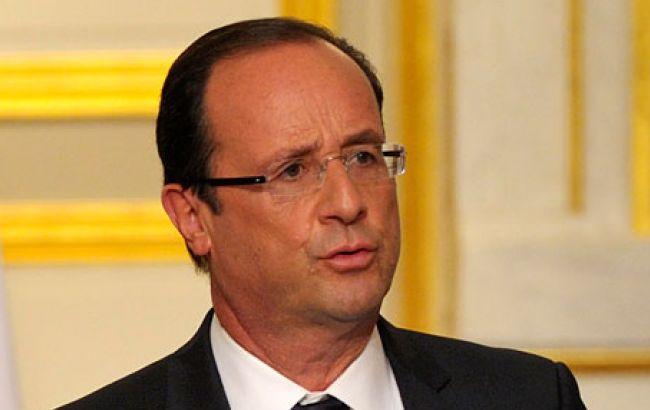 Олланд наказав посилити удари по ІД в Сирії та Іраку