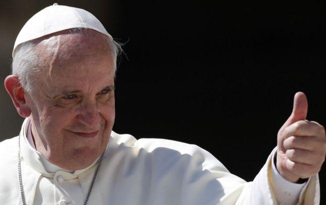 """Папа Римський побажав Україні """"знову знайти мир і надію"""""""