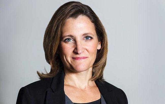 МИДРФ назвал условие снятие санкций снового министра иностранных дел Канады