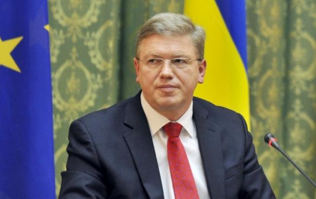 Колишній комісар з питань розширення ЄС і політики сусідства Штефан Фюле