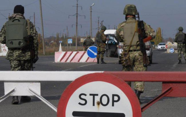 Фото: КПВВ на Донбасі