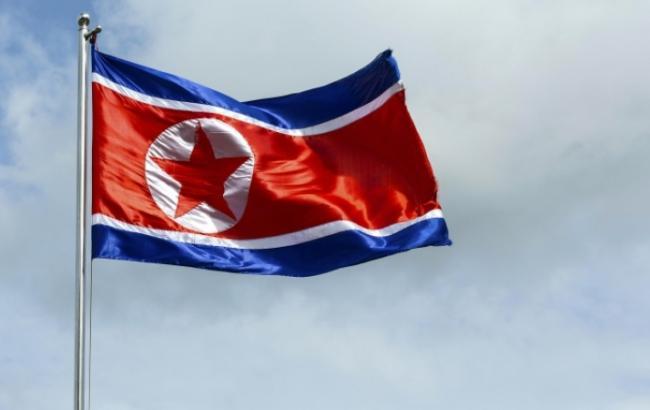 Фото: флаг КНДР