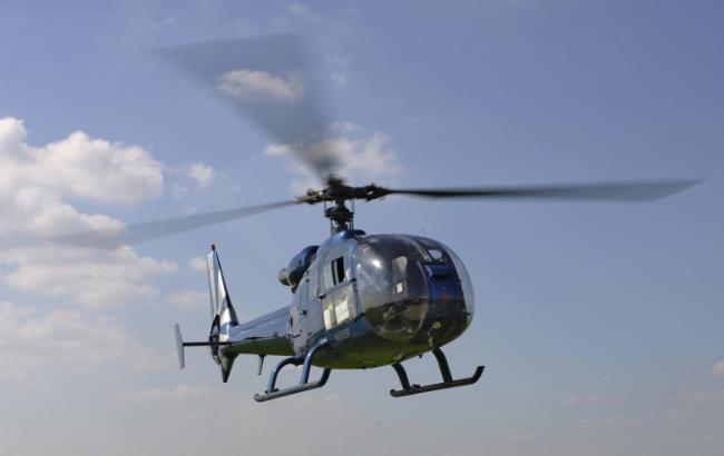 ВЧехии разбился вертолет, необошлось без жертв