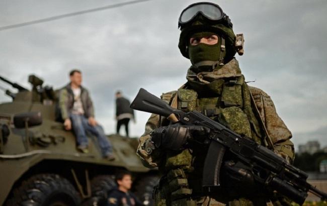 Фото: російський нацгвардієць
