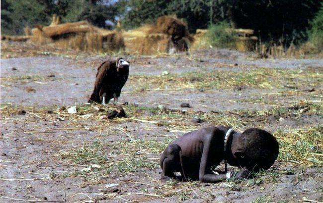 Фото: голод у Південному Судані