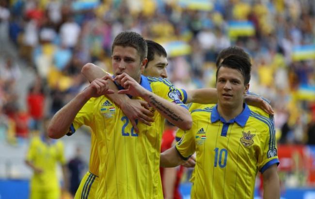 Збірна України піднялася на 8 позицій в рейтингу ФІФА