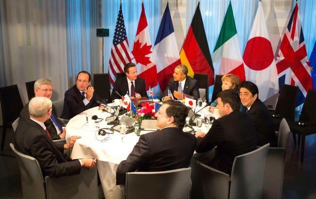 G7 зніме санкції з РФ тільки після виконання мінських угод