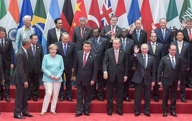 """По итогам саммита """"Большой двадцатки"""" Франция, Германия и США выразили поддержку Украине"""