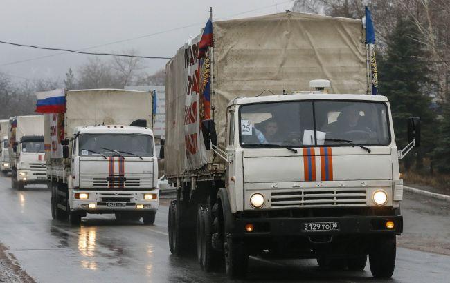 """Росія відправила на Донбас 62-й """"гумконвой"""""""
