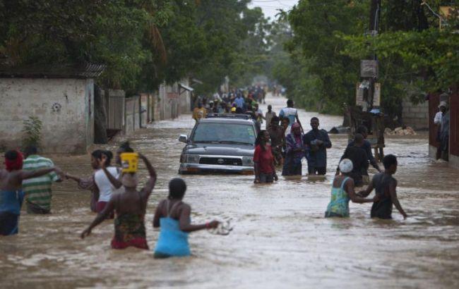 Фото: повінь на Гаїті