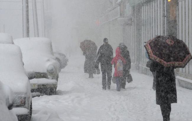 Фото: в Україні оголошено штормове попередження на 1 січня