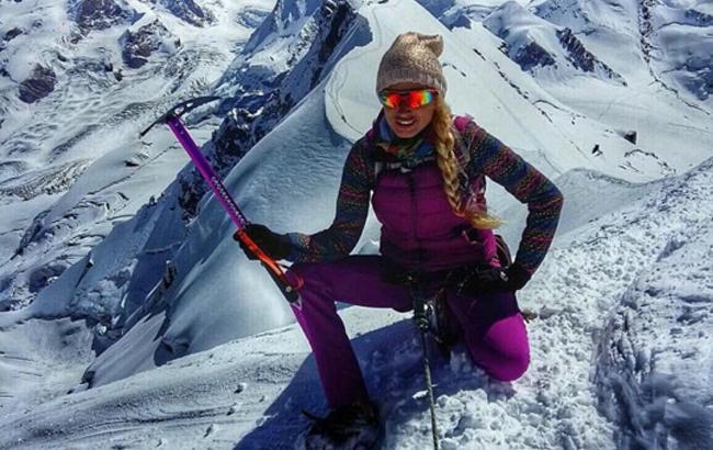 Ирина Галай стала звездой музыкального клипа о своем восхождении на Эверест