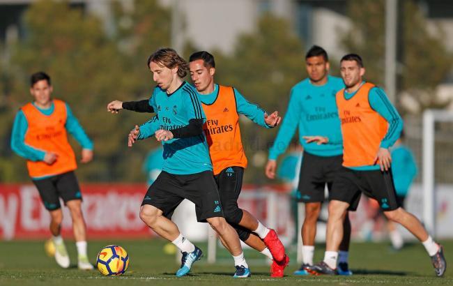 """Фото: тренування """"Реала"""" (realmadrid.com)"""