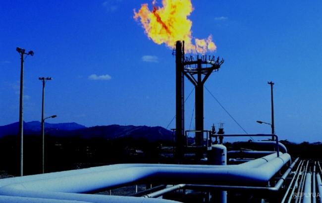 Фото: добыча газа в Украине