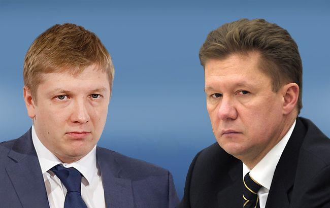 """Главы """"Нафтогаз Украины"""" Андрей Коболев и """"Газпрома"""" Алексей Миллер сегодня будут отстаивать свои позиции по газовому контракту в арбитраже Стокгольма"""
