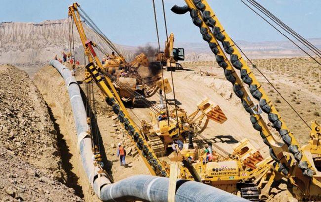 Фото: строительство газопровода