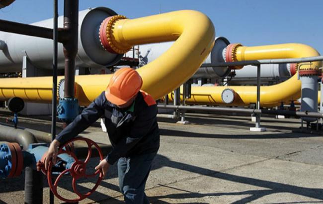 Фото: транспортування російського газу у ЄС територією України