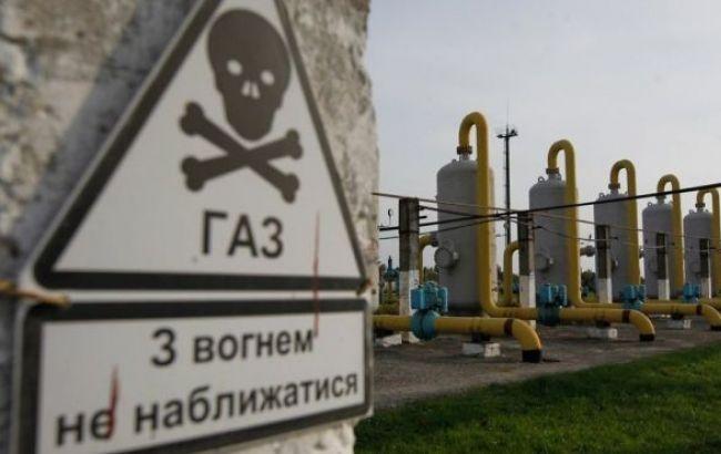Запасы газа в ПХГ Украины снизились на 3,42% - до 7,165 млрд куб. м