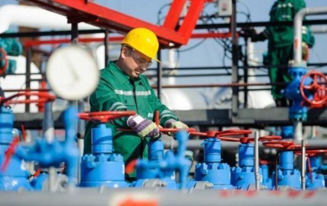Фото: добыча газа немного сократилась
